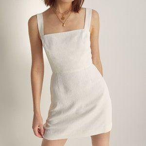 NWT Aritzia White Mini Dress